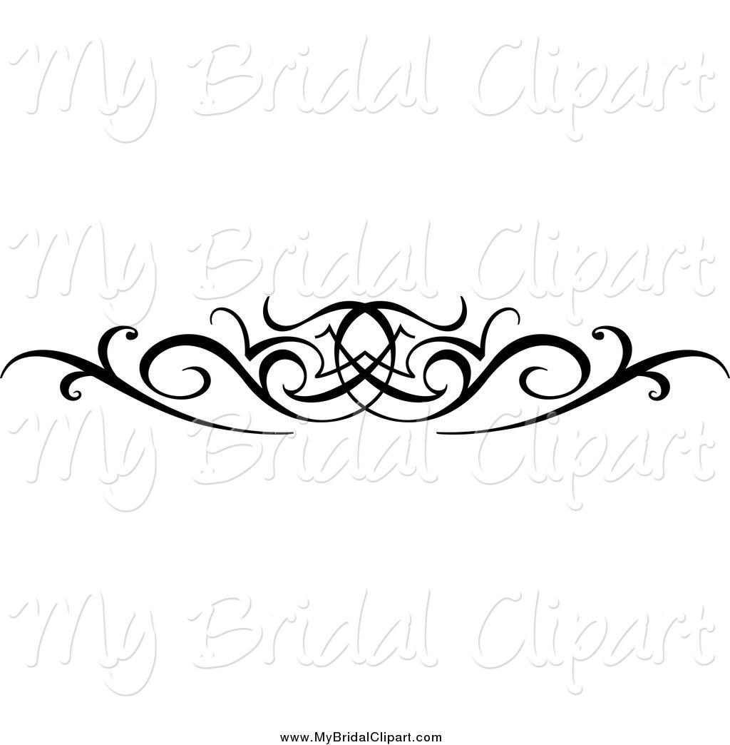 White Swirls Wedding Clipart - Clipart Kid