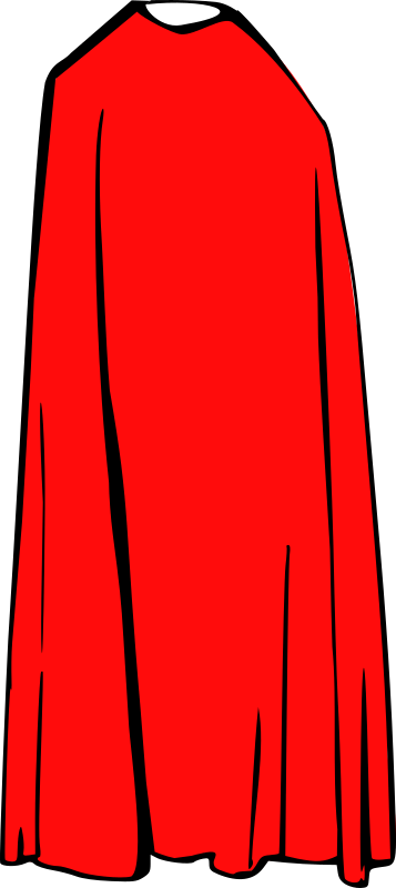 Cape   Cloak By Dkdlv   A Simple Red Cape Where You Can Put The