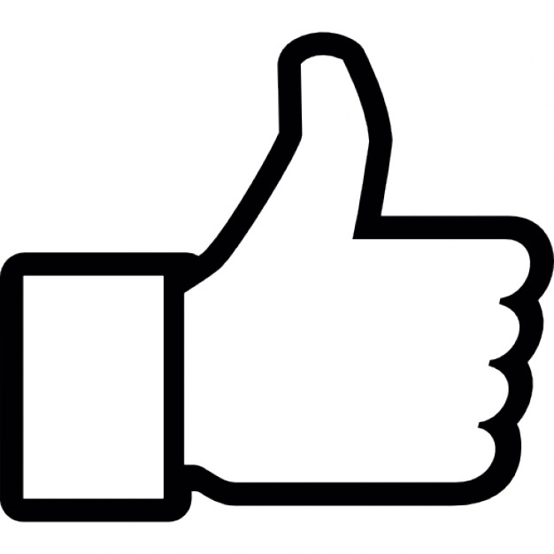 facebook like logo black and white like facebook logo