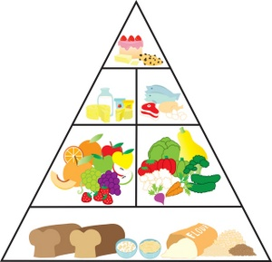 Food Pyramid Clip Art Images Food Pyramid Stock Photos   Clipart Food