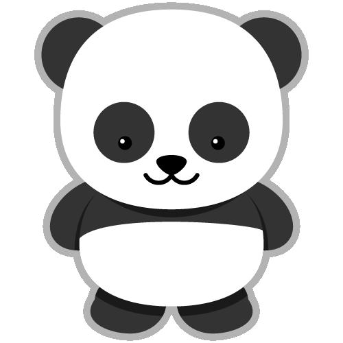 Panda Clipart - Clipart Kid