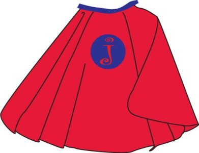 Hero Cape Clipart Tnboy Red Blue Cape Jpg