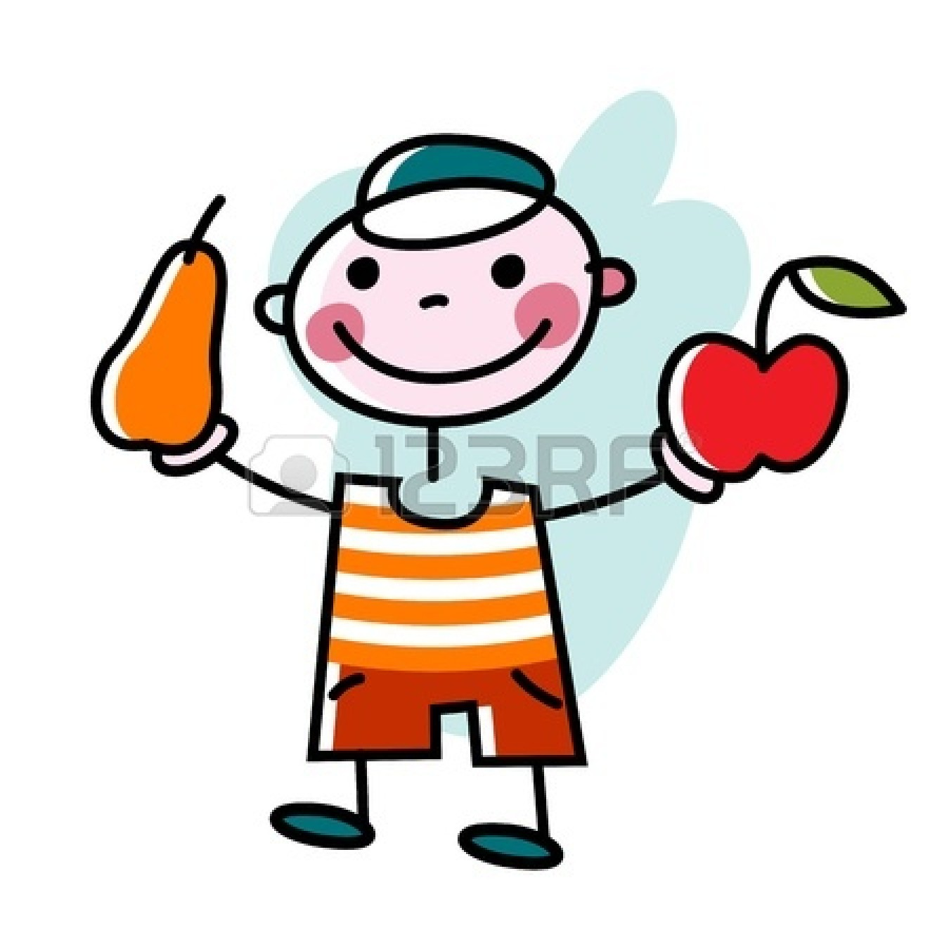 Healthy Eating Clipart - Clipart Kid