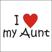 I Love My Aunt Clipart Clipart Suggest