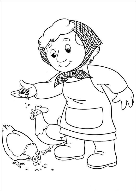Pat A Dog Clipart Postman Pat Coloring Pages