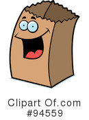Royalty Free  Rf  Paper Bag Clipart Illustration  1167680 By Bnp