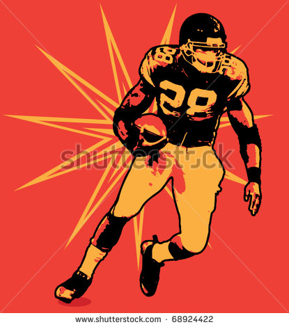 Running Back Clipart Football Running Back