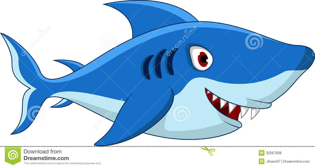 how to make a cartoon shark