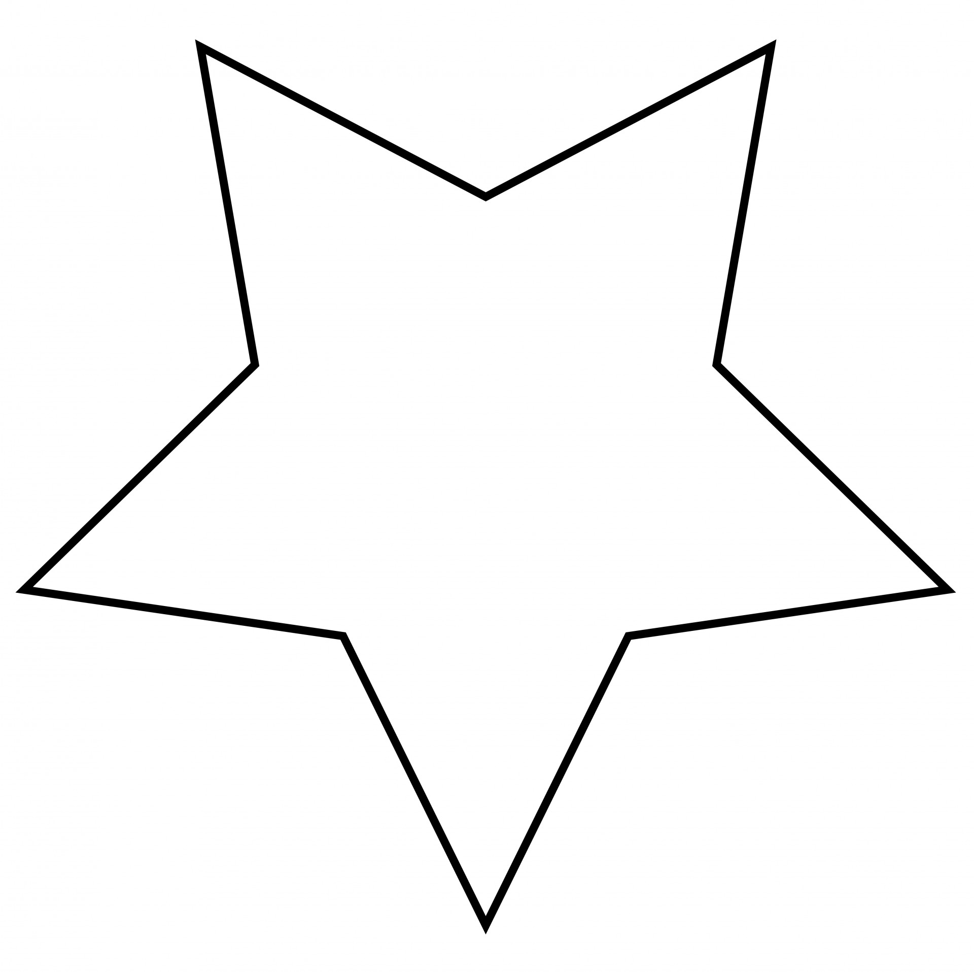 Star Outline Clipart Free Stock Photo Hd   Public Domain Pictures