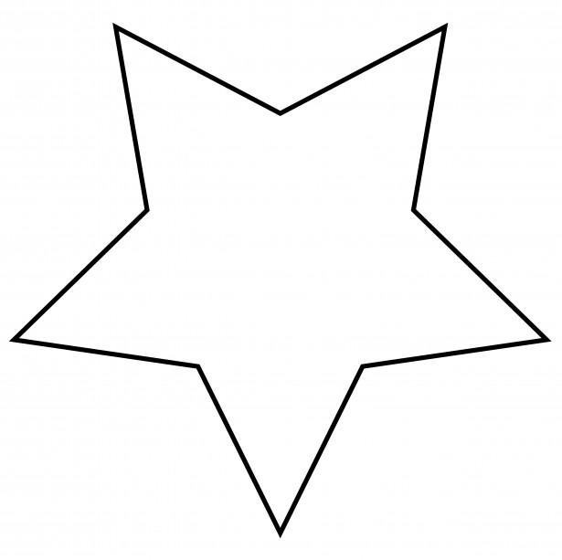 Christmas Star Outline Clipart - Clipart Kid