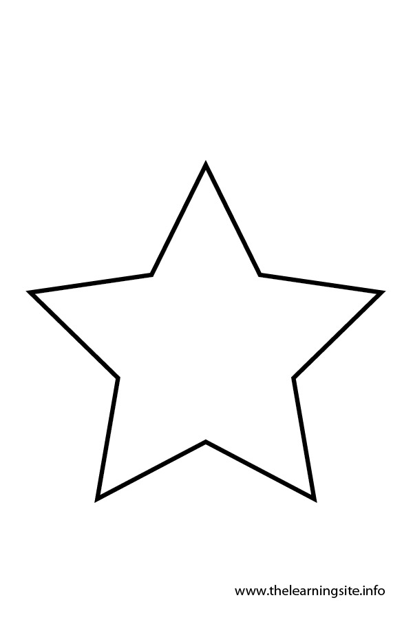 Star Outline Black And White Clipart - Clipart Kid