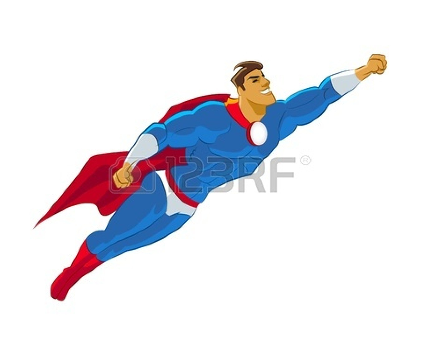 Superman Cape Clipart
