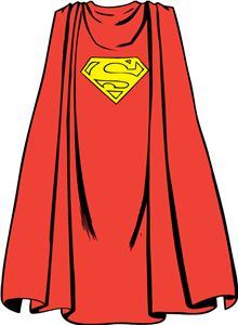 Superman Cape For Kids Clipart   Free Clip Art Images
