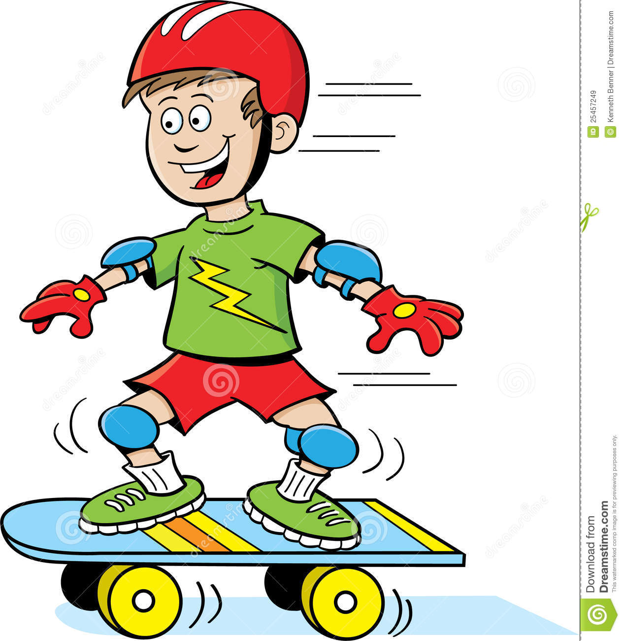 Boy On Skateboard Royalty Free Stock Images   Image  25457249