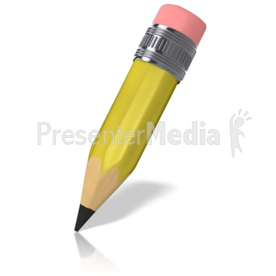 Cartoon Pencil   Signs And Symbols   Great Clipart For Presentations