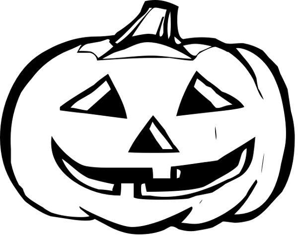 Com Holiday Halloween Pumpkin Pumpkins 3 Wide Pumpkin Bw Png Html