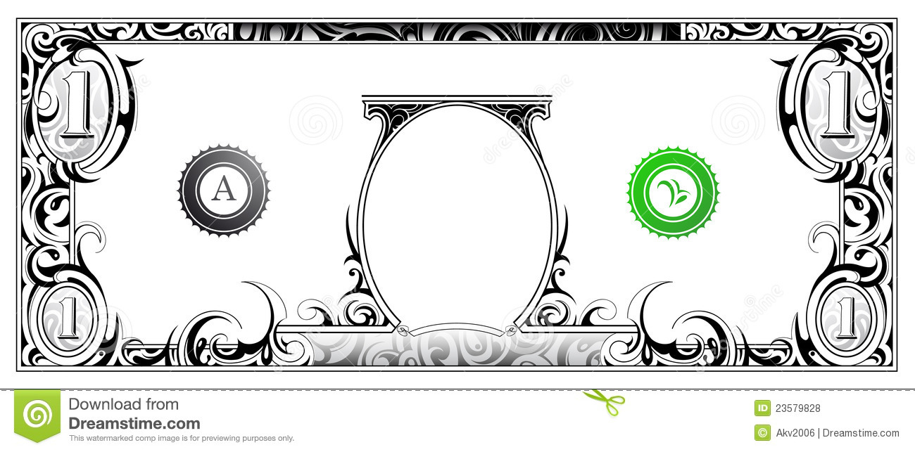 Clip Art Dollar Bill Clip Art dollar bill template clipart kid royalty free stock photos image 23579828