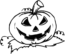 Free Clipart Of Jack O Lantern Clipart Picture Of A