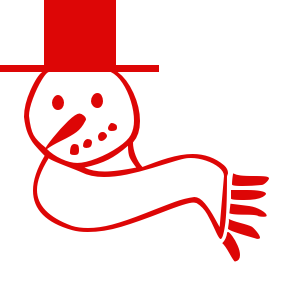 Free Clipart Of Red Christmas Clipart Of A Red Smiling Snowman