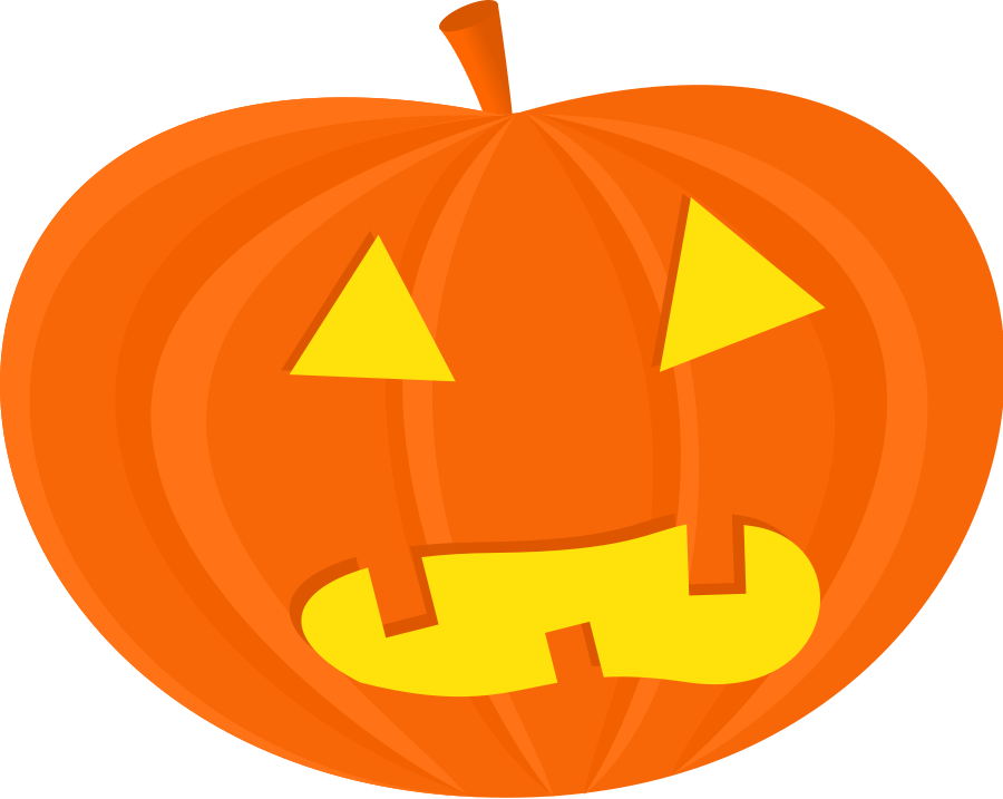 Halloween Pumpkin Clip Art Yekcim Halloween Pumpkins 3 Vector Clipart