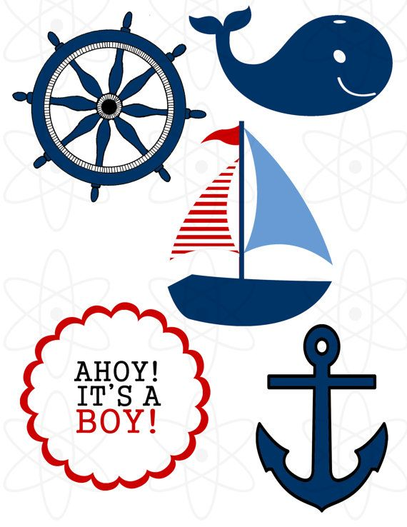 For A Nautical Theme Baby Shower Girl Clipart - Clipart Kid Octopus Cartoon Images