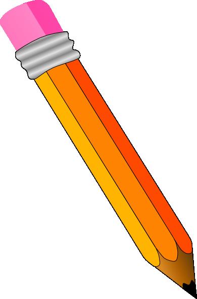 Cartoon Pencil Clipart - Clipart Kid