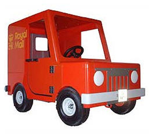 Postman Pat Pedal Ride On Van Summary