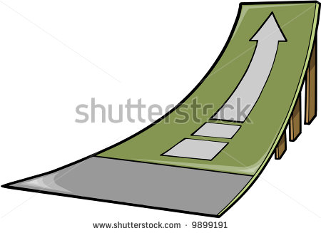 Ramp Clip Art Skate Ramp Vector Illustration