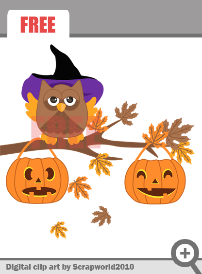 Scrapworld2010  Free Clip Art Hallooween For Personal   Commercial