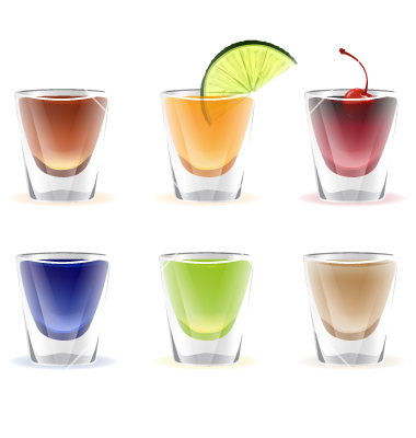 Royalty-Free (RF) Clipart of Alcohol Shots, Illustrations ...