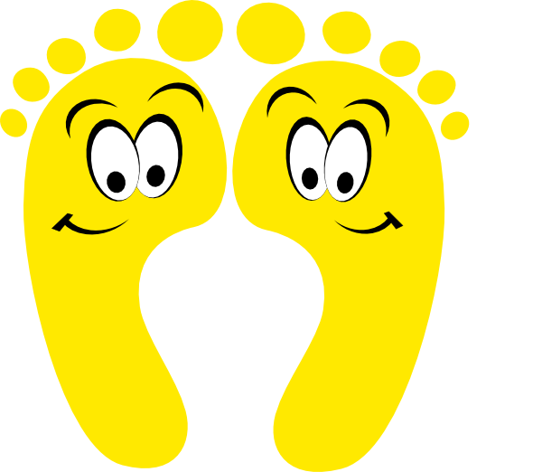 Funny Feet Clipart - Clipart Kid