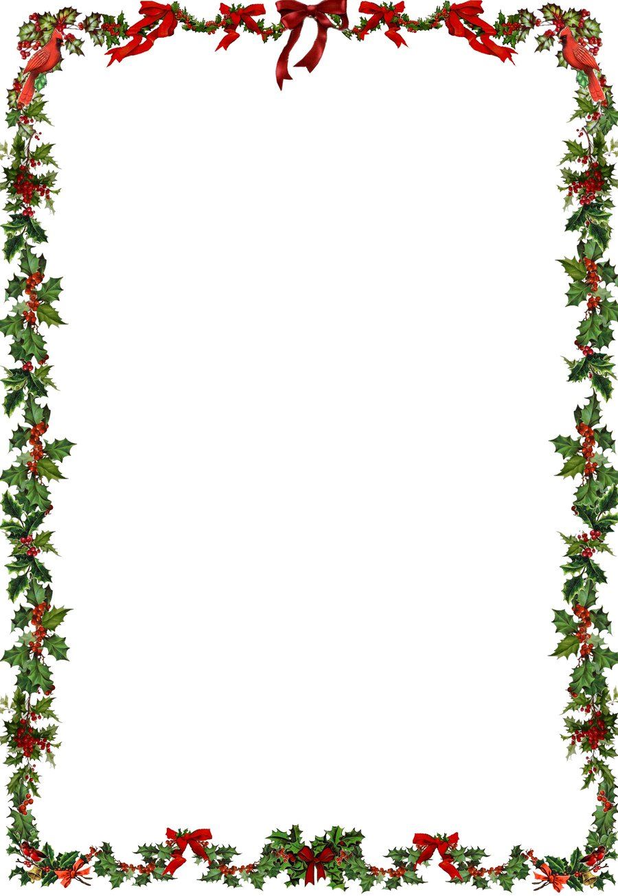 free vintage christmas border clip art - photo #29