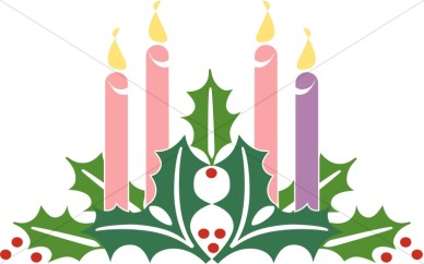Advent Candles Clipart Advent Clipart