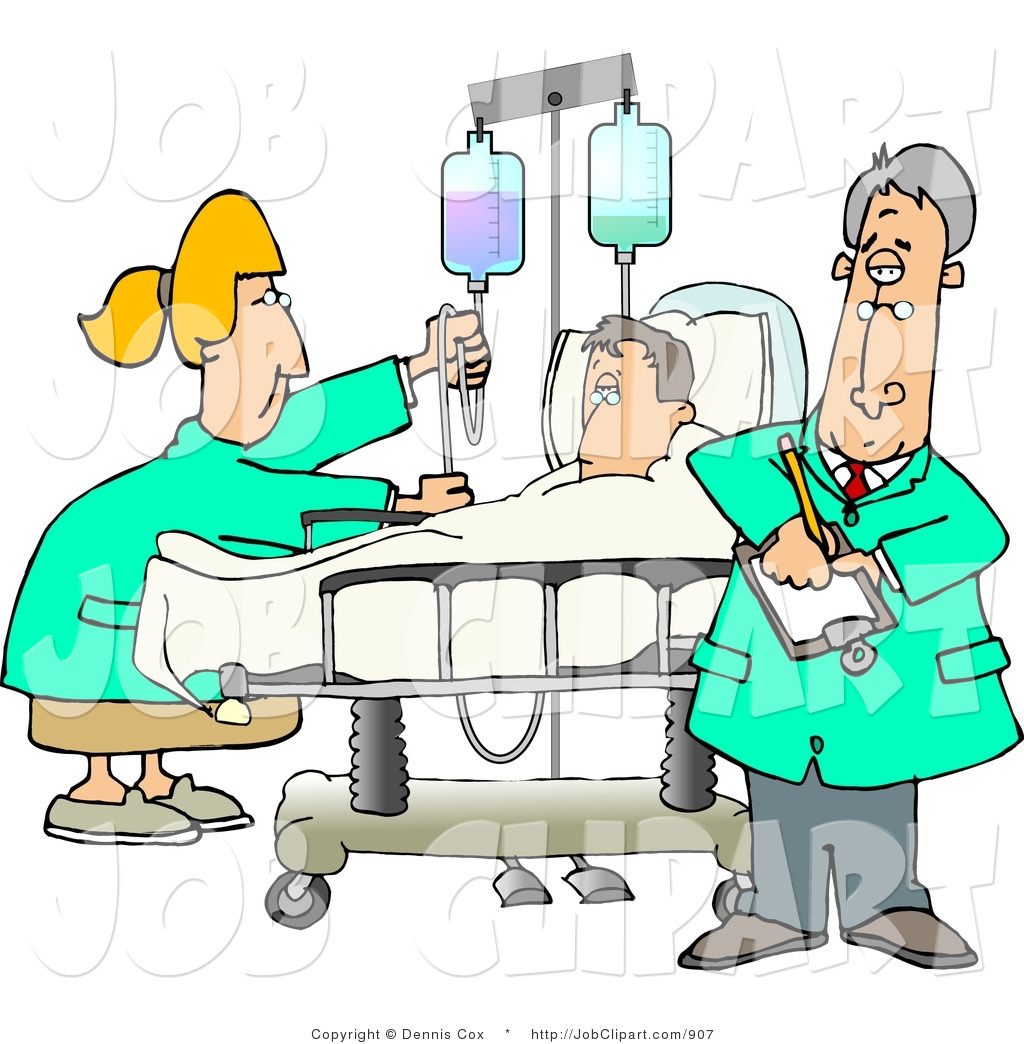 Patient In Hospital Bed Clipart - Clipart Suggest