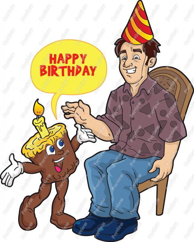 man birthday clipart clipart suggest