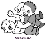 Boys Fighting Clipart   Cliparthut   Free Clipart