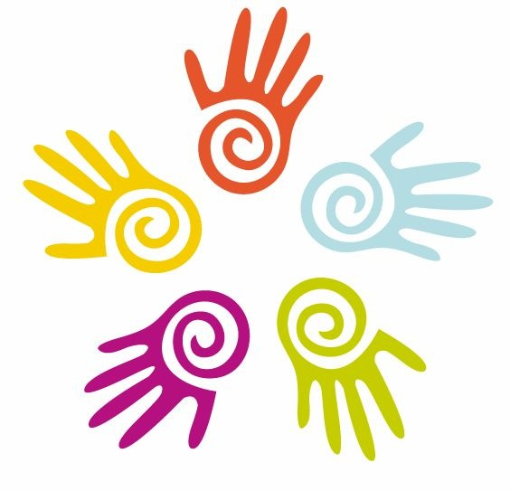 Clip Art Hands Circle Joined Clipart   Cliparthut   Free Clipart