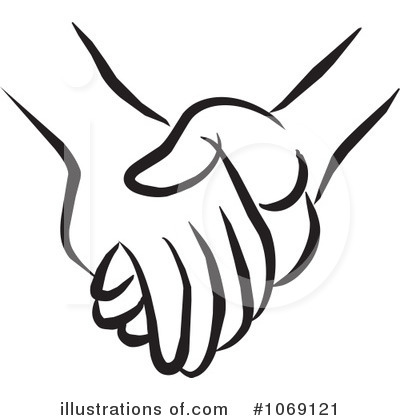 Hands Clipart  1069121   Illustration By Johnny Sajem