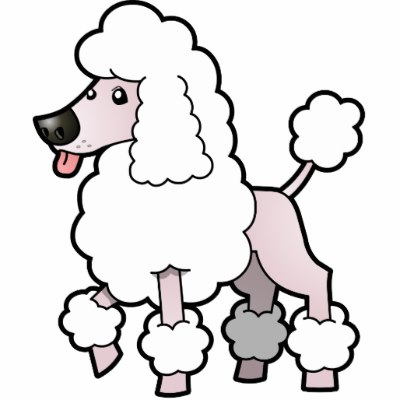 Happy Poodle Cartoon Stock Vector 72302509   Shutterstock   M5x Eu