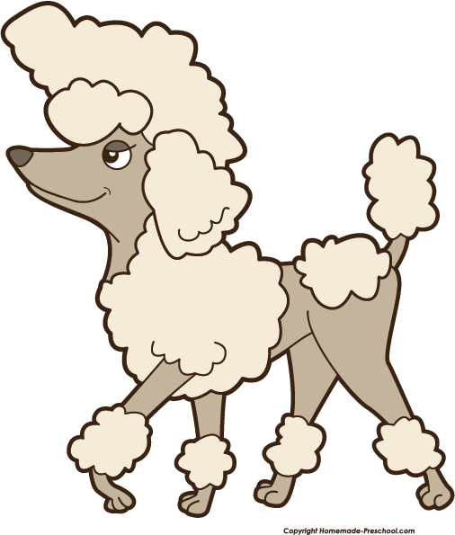 Home Free Clipart Free Dog Clipart Poodle