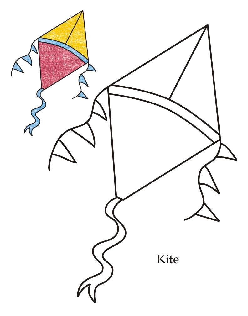 Diamond Kite Clipart