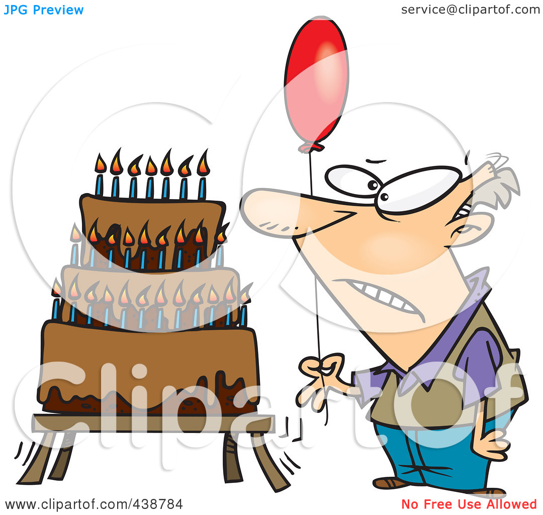Men Royalty Free Rf Clip Art Illustration Of A Cartoon Old Man Image