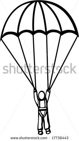 Clip Art Parachute Clipart parachute game clipart kid stock vector man with 17738443 jpg