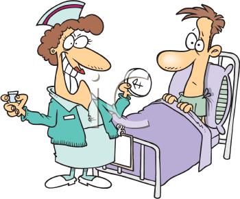 Free Clip Art Hospital Patient
