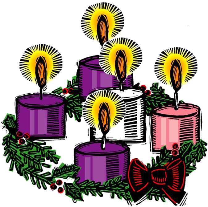 Image result for advent wreath clip art