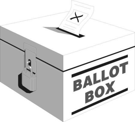 Election Ballot Box Clipart - Clipart Kid