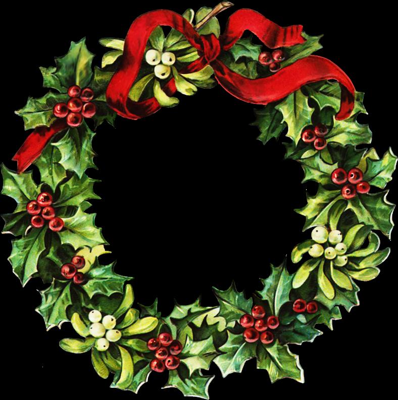Free Victorian Christmas Clipart - Webweaver