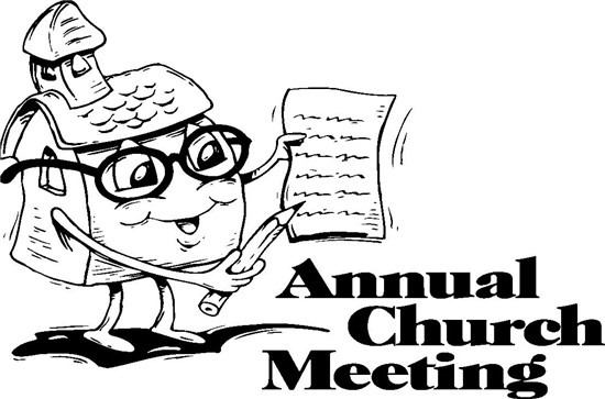 Church Annual Meeting Clip Art Annual Meeting  Date  2 9 2014