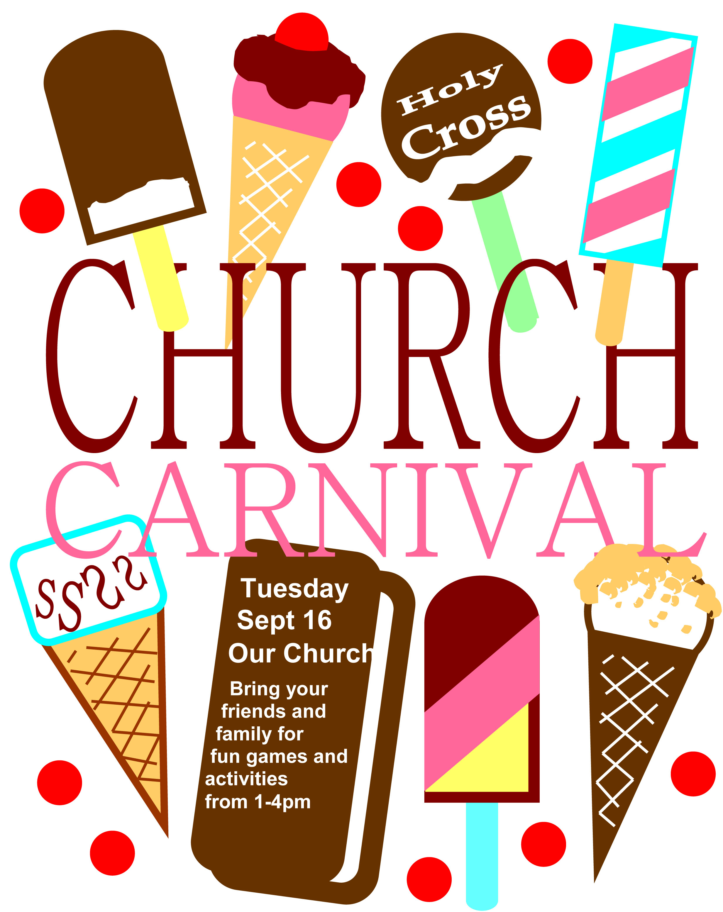 Church Carnival Flyer Templates Using Microsoft Office