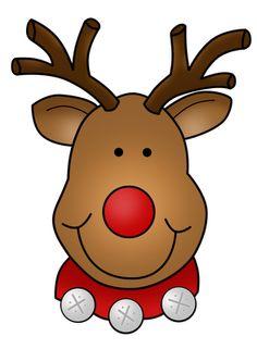 Clip Art Reindeer Clip Art printable christmas reindeer clipart kid cute rudolph freebie